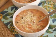 Crock Pot Tomato Basil Soup