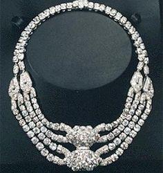 The Vanderbilt Diamond Necklace. Damn!
