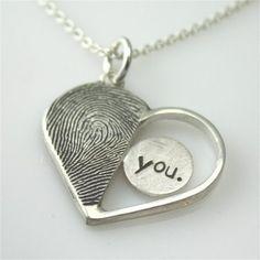 <3 You Necklace Pendant