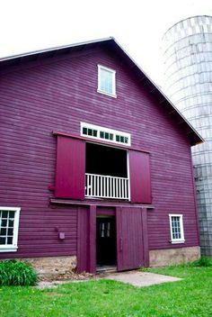 Never seen a Purple Barn!