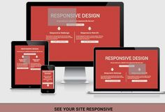 See your site in various layouts.
