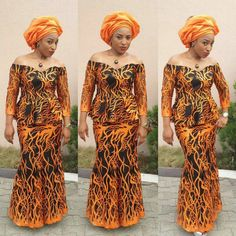 Creative Aso Ebi Skirt and Blouse Style . Creative Aso Ebi Skirt and Blouse Style Latest African Fashion Dresses, African Dresses For Women, African Attire, African Women, African Hair, African Print Dress Designs, African Print Dresses, African Print Fashion, African Prints