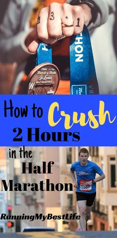 The 2-Hour half marathon seems to be the magical number for recreational runners. Follow these tips to help you crush your 2-hour half marathon! #halfmarathon #running #halfmarathontraining