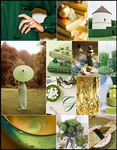 Green and Gold St. Patrick's Day inspiration #camillestyles
