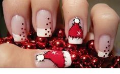 10 Most Beautiful Christmas Nail Designs! ~ Nail and Beauty Ideas
