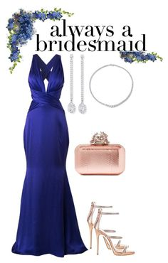 """always a bridesmaid II"" by lov3story on Polyvore featuring Mode, Romona Keveža, Messika, Giuseppe Zanotti, Jimmy Choo, contest, contestentry und alwaysabridesmaid"