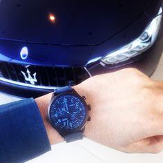 Maserati Ghibli & Timex