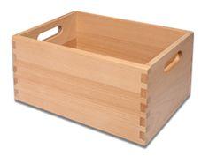 Wooden storage box size S