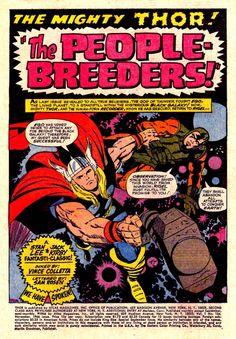 Thor Journey Into Mystery #134 Jack Kirby