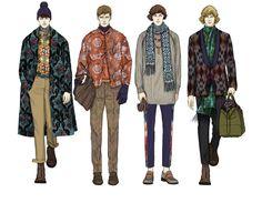 Mengjie Di fashion illustrations Mengjie Di is a... | Fashionary Hand - A Fashion Illustration Blog