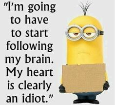 It's not who you think it is though. but in a way, I do agree, it's bad. Too much going for bad boy types. Minion Pictures, Funny Pictures, Funny Quotes, Funny Memes, Jokes, My Minion, Funny Minion, Minion Humor, Minions Quotes