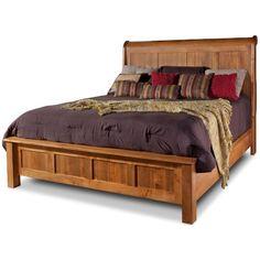 Shop For The Danielu0027s Amish Lewiston King Sleigh Bed At Stegeru0027s Furniture    Your Peoria, Pekin, Bloomington, U0026 Morton, IL Furniture U0026 Mattress Store