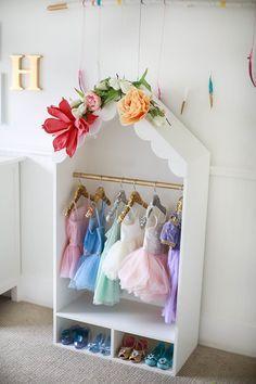 Dress-up wardrobe – Www.whatdreamsmaybecome.ca