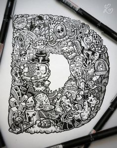 2011-2012 DOODLES Batch 1 : Notebooks & Sketchpads by Lei Melendres, via Behance
