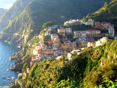 """The Five Lands"" is composed of five villages: Monterosso al Mare, Vernazza, Corniglia, Manarola, and Riomaggiore. The coastline, the five villages, and the surrounding hillsides are all part of the Cinque Terre National Park and is a UNESCO World Heritage Site."