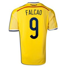 115755f4a00 FIFA World Cup 2014 Soccer Jersey Football Shirt Trikot Maglia Colombia  Soccer, Soccer City,