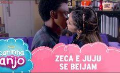 Zeca e Juju se beijam | Carinha de Anjo - capítulo 68 - quarta, 22/02/17