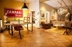 Obbjekt Campari And Soda, Shopping Stores, Boutiques, Corner Desk, Shops, Furniture, Home Decor, Style, Boutique Stores