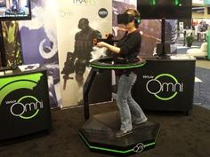 Step Into Virtual Worlds with the Virtuix Omni #vr #virtualreality #virtual reality