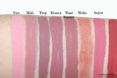 My ColourPop Ultra Matte Lip Collection Swatches & Review: Vice Midi Trap…
