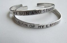 "Daenarys & Drogo ""Game of Thrones"" couple bracelets."