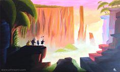 pixar concept art wallpaper