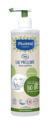 MUSTELA BIO Micellar water 400ml UK
