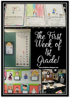 The First Week of First Grade