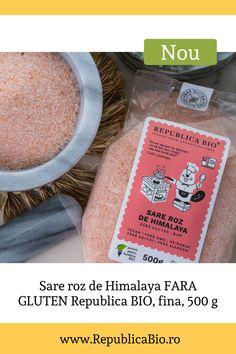 Știai că sarea roz de Himalaya își capătă culoarea de la conținutul de minerale? Consumată în cantități moderate, poate ajuta la reglarea presiunii sanguine, poate contribui la eficiența transmisiei nervoase și a contracției musculare. Photo credit: Zafiu Andrei Sin Gluten, Artisan, How To Make, Glutenfree, Gluten Free, Craftsman