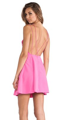 Good look for less for Brandi Glanville's pink Jennifer Hope dress $78 (down from $120) http://rstyle.me/n/t5ecwmnje