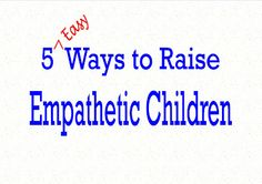 Teaching children to be compassionate