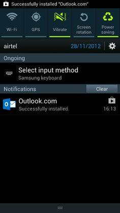 Installing Outlook.com