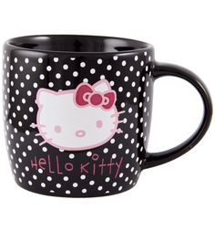 Hello Kitty mug. My coffee would love to be in this :) @deanna hughes scott-hopkins