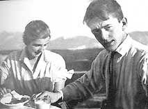 Albert in his teens