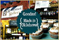 The Gourmet Gallery has an awesome selection of Made in Oklahoma products.  They'll even help put them together in a fancy gift basket for you.  #MIO #MyHometownPins