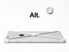 Alt. is a true minimalist case with a mounting / handsfree solution for your home, workspace and car. Based on our popular RADIUS case