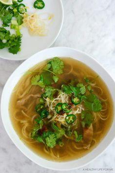 Beef Pho Noodle Soup