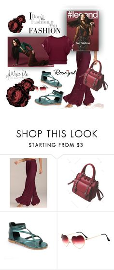 """Rosegal"" by pesanjsp ❤ liked on Polyvore featuring WALL"