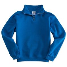 BLUE QUARTER ZIP SWEATER from Universal Academy for $30.00