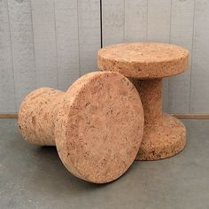 Best of Instagram | September 2014 | 'The Vitra Cork Family are robust yet surprisingly soft. Use as a stool or an interesting display for your accessories.'