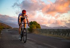 Sunset Road Biking in Corsica, France by Christoph Oberschneider on 500px
