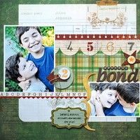 A Project by LynnGhahary from our Scrapbooking Gallery originally submitted 07/23/10 at 07:08 AM / great for a boy or school layout.