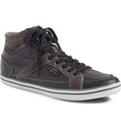 Main Image - Geox Box High Top Sneaker (Men)