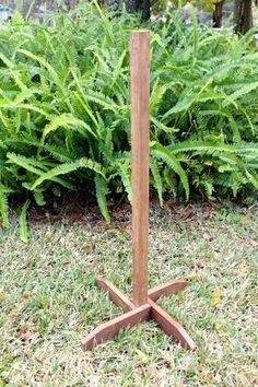 Self Standing Wooden Stake for Wedding Directional Signs  Handmade by Mulberry Market Designs