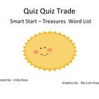 This is a Kagan Cooperative Learning Structure made using the words from Treasure's Smart Start for first grade. Student quiz each other on the wor...