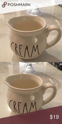 Rae Dunn Creamer The Rae Dunn Creamer will help complete your collection. We will ship your purchase with Bubble wrap and care. Rae Dunn Other