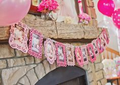 Birthday Banner for Monthly Photos at First #BirthdayParty