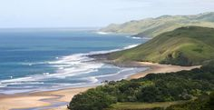 A heart-stoppingly beautiful coastal area of South Africa is the Pondoland Marine Protected Area. Explore it on foot, like a beachcomber.