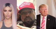 Kanye defiende a Trump y luego se retracta por 'regaño' de Kim Kardashian