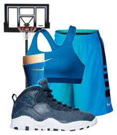 """""""Untitled #313"""" by pound2lafreek on Polyvore featuring NIKE"""